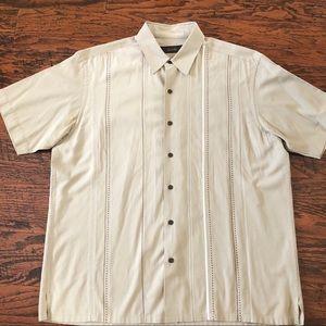 Tasso Elba Men's Silk Blend Lounge Shirt